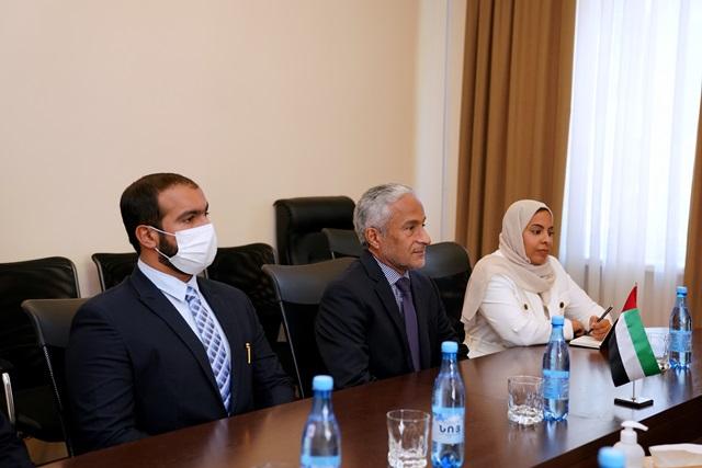 Dr. Harib Al Amimi in Yerevan